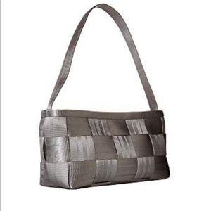 Harveys Seatbelt Bag Gray Satchel Shoulder Bag